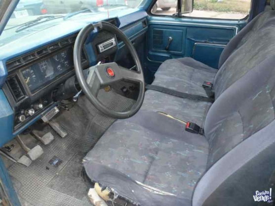 F 100 1985 ford f100 mod 85 diesel for Camiones ford interior